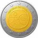 2 Euro 2009 Austria 10 lecie strefy Euro - EMU