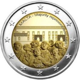2 Euro 2012 Malta Reprezentacja Większości 1887 r.