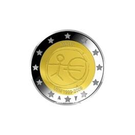 Rolka 25 szt. 2 Euro 2009 Malta 10 lecie strefy Euro - EMU