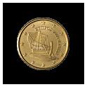 10 centów 2008 Malta
