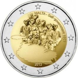 2 euro 2013 Malta Ustanowienie samorządu