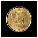 20 centów 2008 Cypr