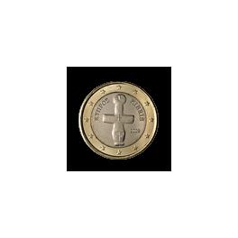 1 euro 2008 Cypr