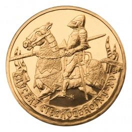 Rycerz ciężkozbrojny - XV wiek 2 zł NG